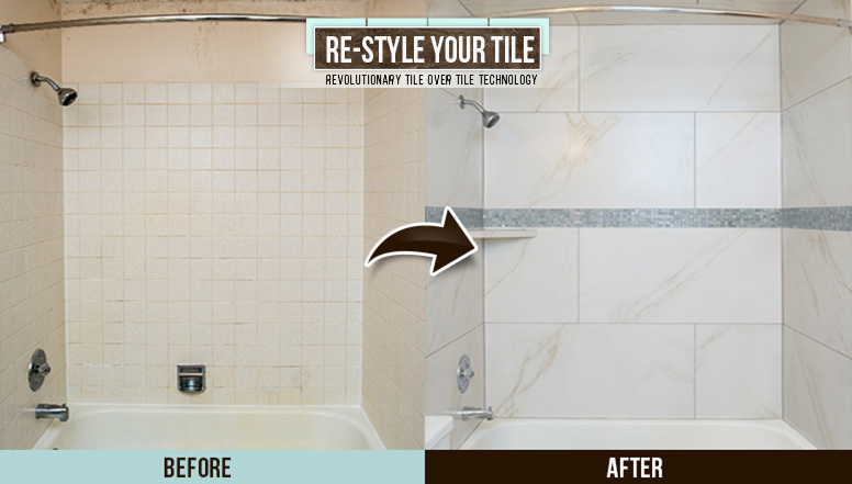 Before and After Picture of a Bathroom Transformation in Chicago Il